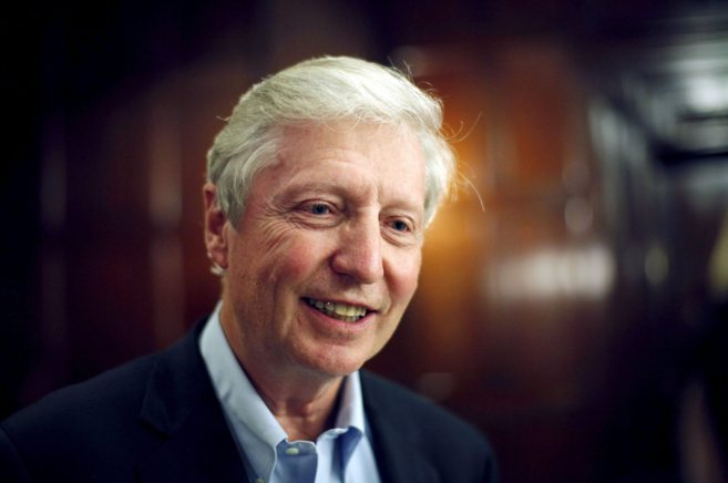 El premio Nobel de Medicina 2011, el luxemburgués Jules Hoffmann.