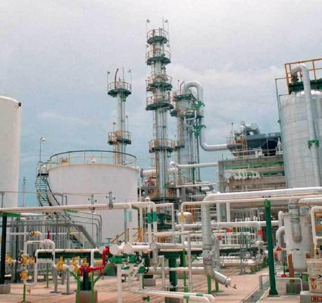 Refinería de Ciudad Madero, situada en el estado mexicano de...