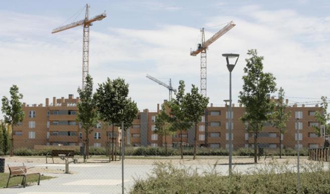 Una promoción de viviendas en la comunidad de Madrid.