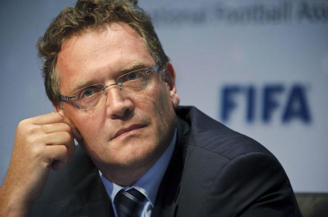 El secretario de la FIFA, Jerome Valcke.