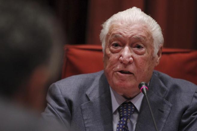 Macià Alavedra en la comisión