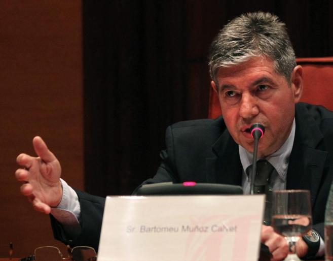 El ex alcalde de Santa Coloma de Gramenet, Bartomeu Muñoz