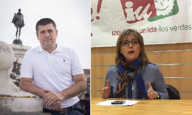 Rafael Ripoll y Pilar Fernández Herrador, concejales de España 2000...
