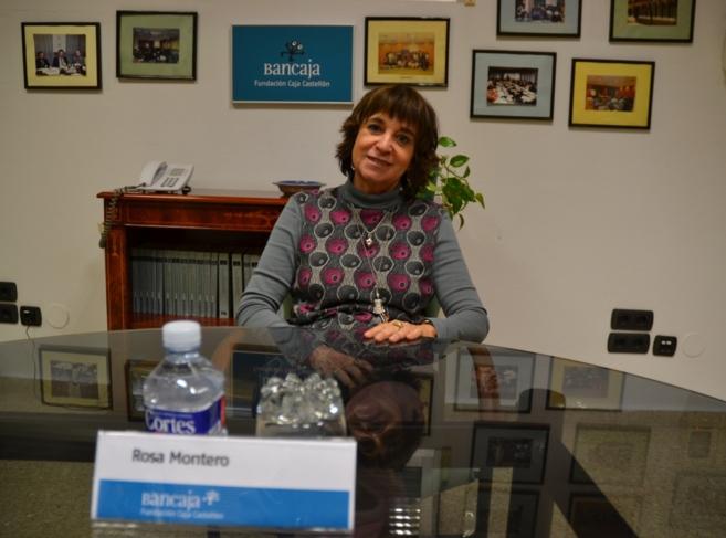 Rosa Montero ha visitado en varias ocasiones la Fundación Caja...