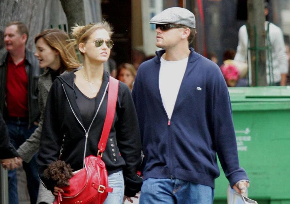 Entre 2005 y 2011, la modelo mantuvo una relación con el actor...