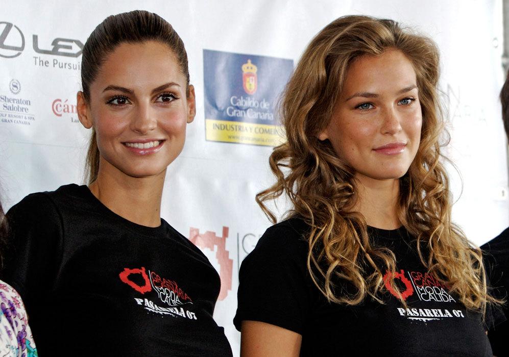 En 2007, coincidió con la modelo española Ariadne Artiles en la 11º...