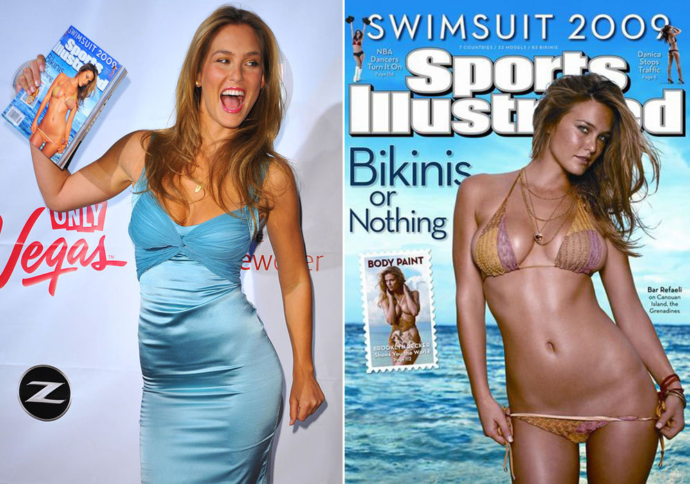 Como han hecho otras modelos, Bar Refaeli protagonizó en 2009 una de...