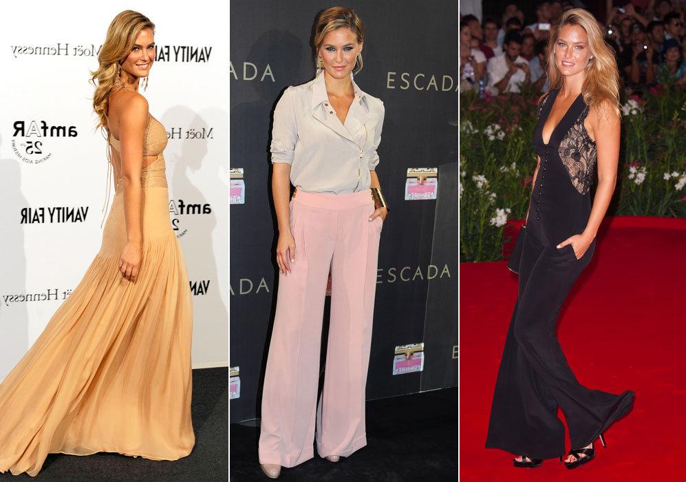 Algunos de los estilismos más impresionantes que ha lucido la modelo...