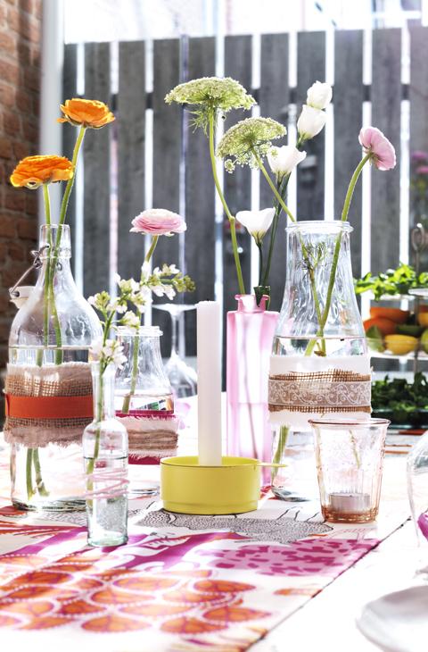 Ideas para decorar el jard n y la terraza con poco dinero - Como arreglar mi jardin con poco dinero ...