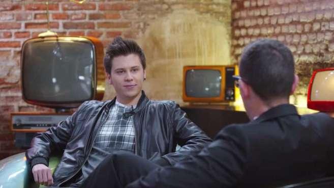 El Rubius en la entrevista que le hizo Risto Mejide en 'Al rincón de...