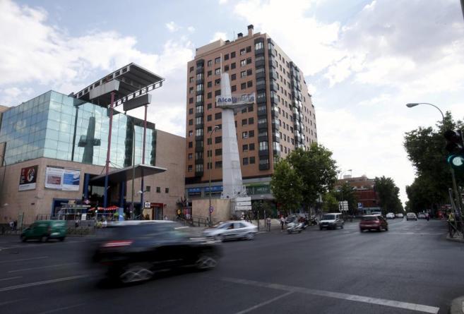Confluencia de la calle Hermanos García Noblejas con Arturo Soria.