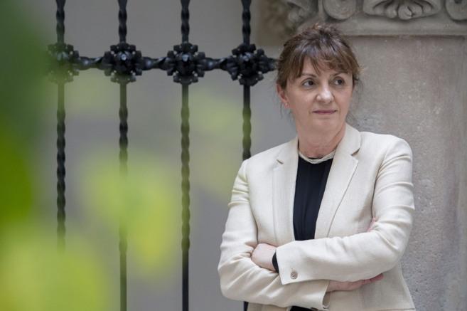 Caterina Biscari, directora del Sincrotrón ALBA situado en Cerdanyola...