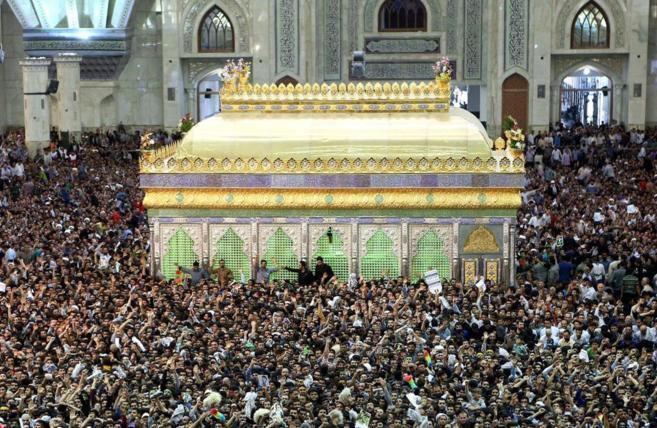 Celebración en el mausoleo del Iman Jomenei del 26º aniversario de...