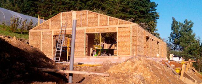 Una construcción de EcoPaja