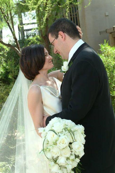 Sheryl Sandberg y  David Goldberg, en una foto compartida por ella.