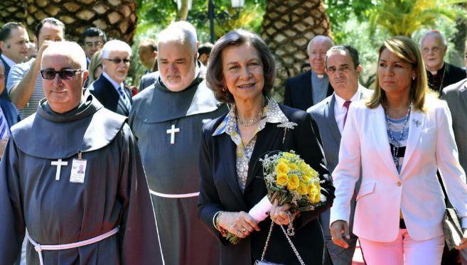 La Reina Sofía, en una imagen reciente.