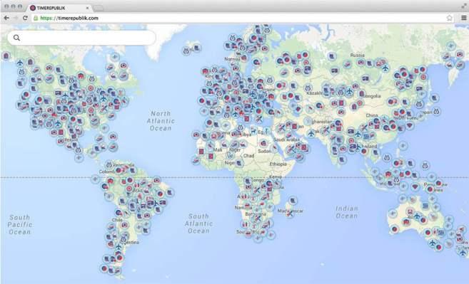 Mapa Del Tiempo En El Mundo.La Republica Del Tiempo Economia El Mundo