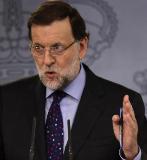 Mariano Rajoy, durante una rueda de prensa el pasado viernes. / AFP