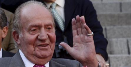 Don Juan Carlos disfrutando en las Ventas