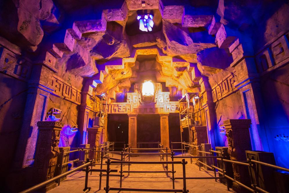 Imagen de la atracción 'The Lost Temple' del Movie Park...