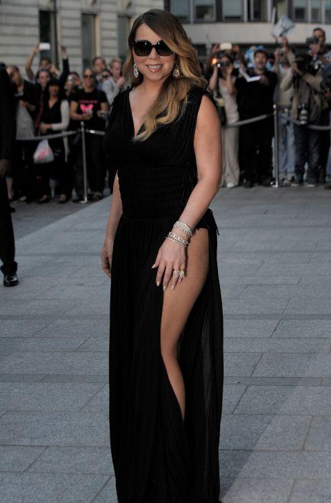 Mariah Carey en Londres el 7 de junio.