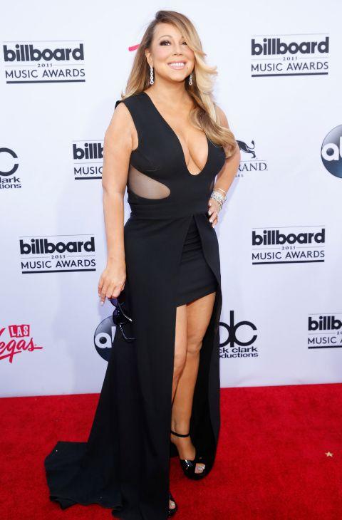Carey en los premios Billboard Music, en Las Vegas, el 17 de mayo.