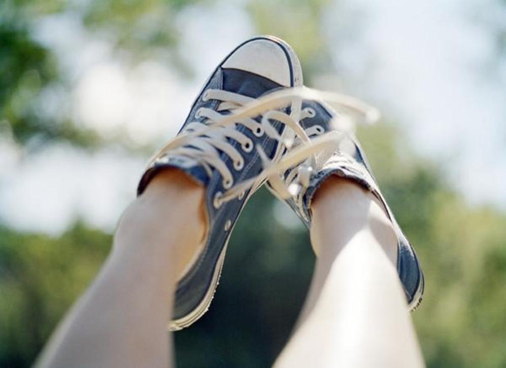 calcetines sin una zapatos Lifestyle que moda Llevar 'huele mal' avOEU