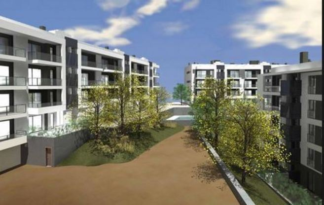Diseño de promoción de viviendas de Asentia.