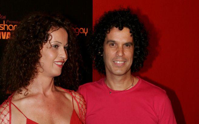 Carla Antonelli con Pedro Zerolo.