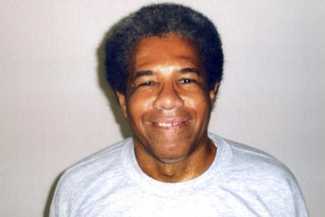 Fotografía del recluso Albert Woodfox, publicada por Amnistía...