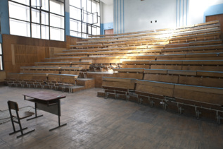 Un aula de una universidad. Foto: Gtres