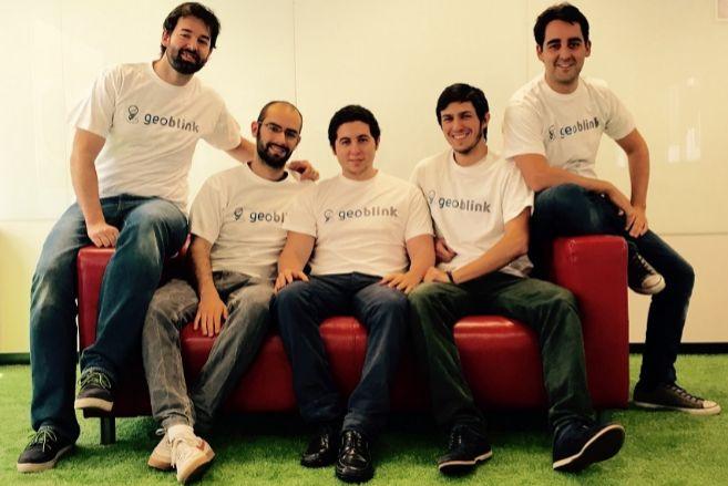 El equipo actual de Geoblink, con su socio fundador, Jaime...