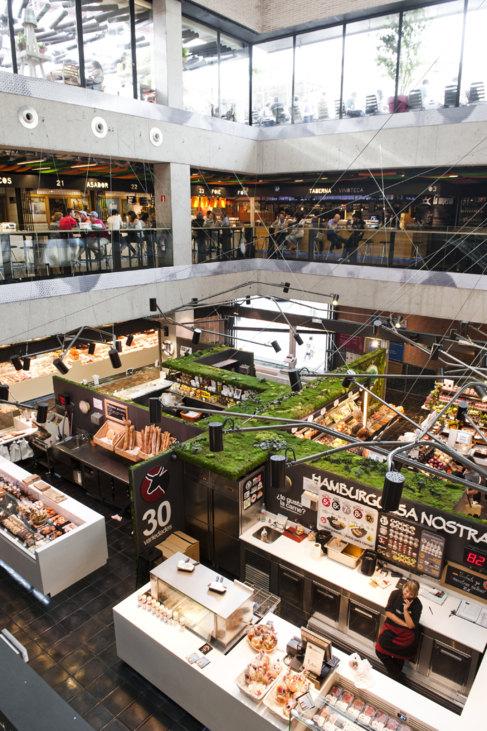 Interior del mercado de San Antón ( Foto:Gtresonline).