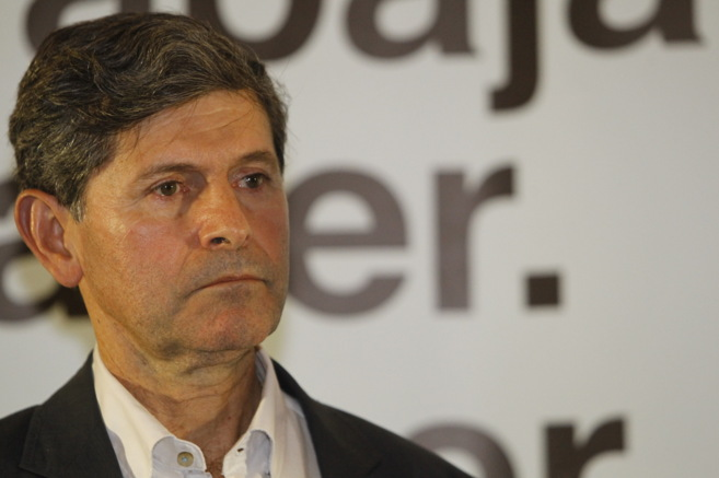 Alfonso Bataller, el domingo 24-M, valorando el resultado de las...