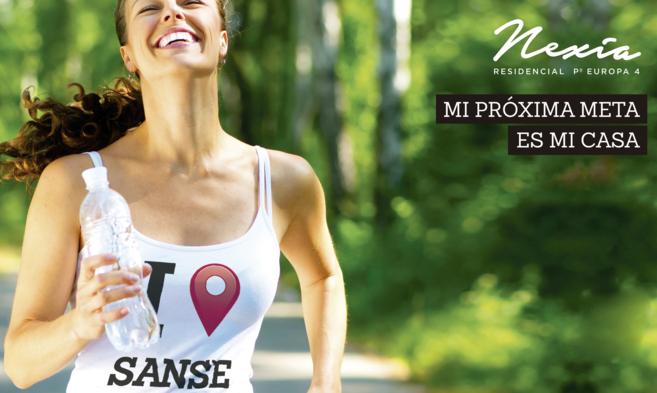 Imagen de la campaña 'I love Sanse', puesta en marcha por...