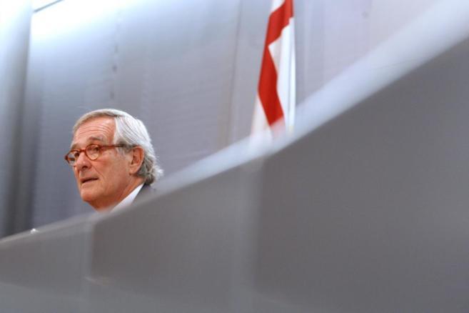 El alcalde saliente de Barcelona, Xavier Trias.