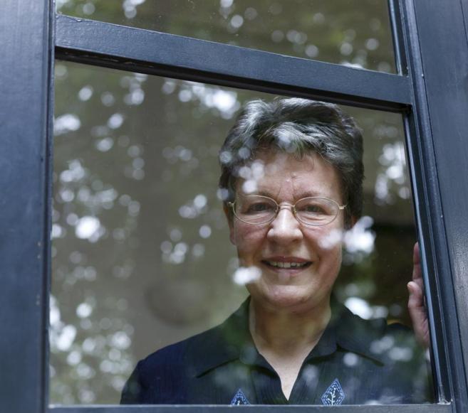 La astrónoma Jocelyn Bell, en la Residencia de Estudiantes de Madrid.