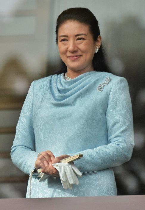 Masako, el pasado 2 de enero en el palacio imperial de Japón.