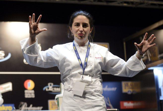 Elena Arzak en el Congreso Madrid Fusión, del año pasado.