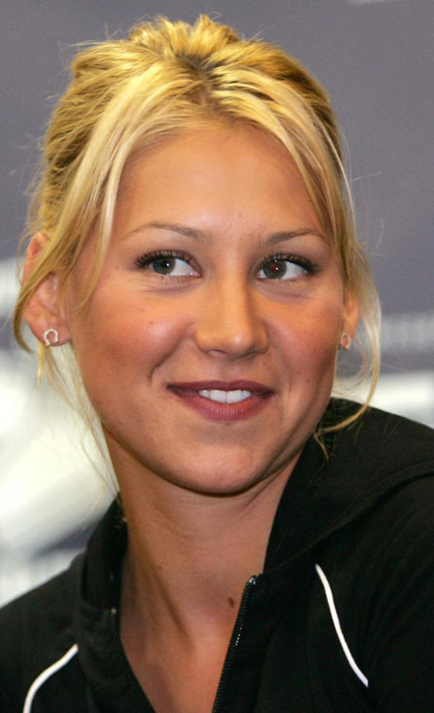 Anna Kournikova, novia de Enrique.