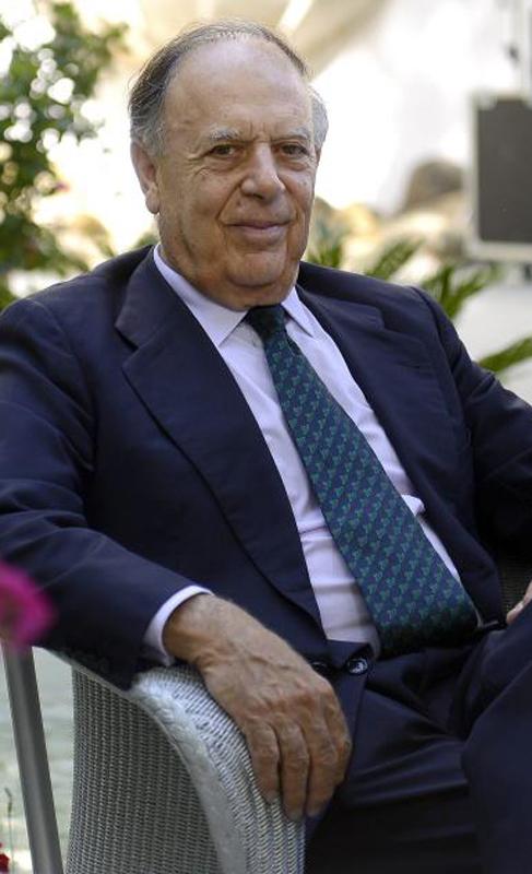 Carlos Falcó, su segundo marido.