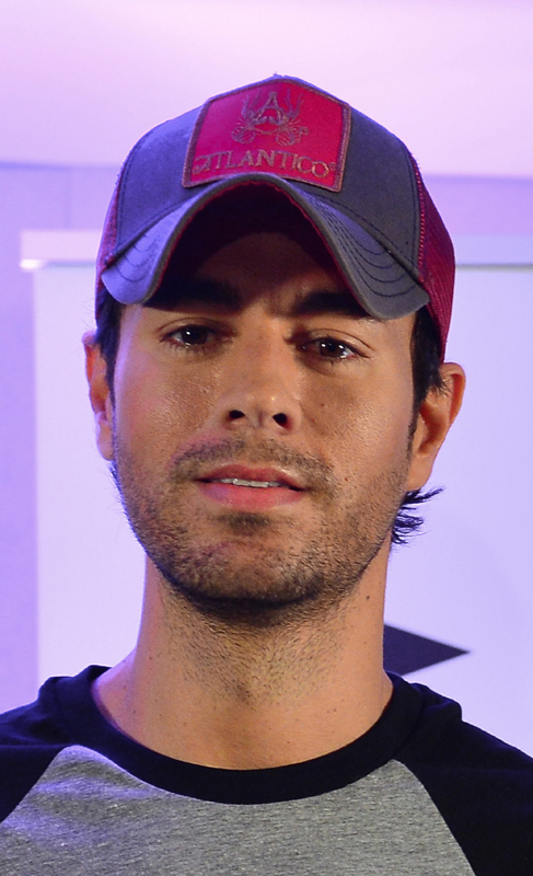 Enrique Iglesias, su tercer hijo.