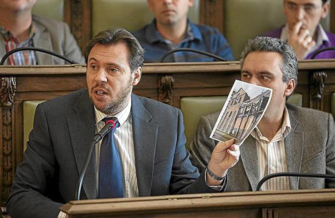 El nuevo alcalde de Valladolid, Óscar Puente, en una imagen de...
