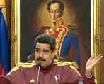 Discurso televisado de Nicolás Maduro, presidente de Venezuela.