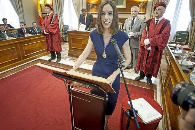 La nueva alcaldesa socialista de Gandía, Diana Morant.