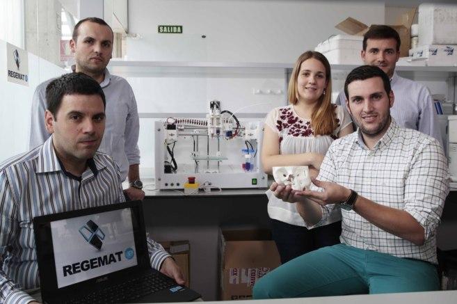 El equipo de la compañía BRECA Health Care responsable del proyecto...