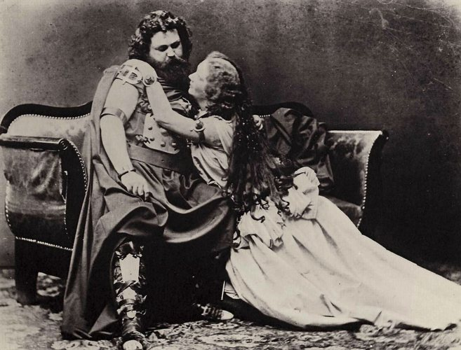Ludwig y Malwine Schnorr von Carolsfeld, la pareja protagonista del...