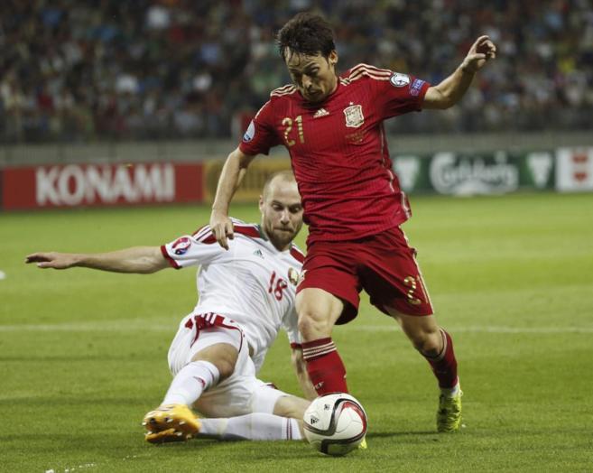 El centrocampista de la selección española fue el hombre más...