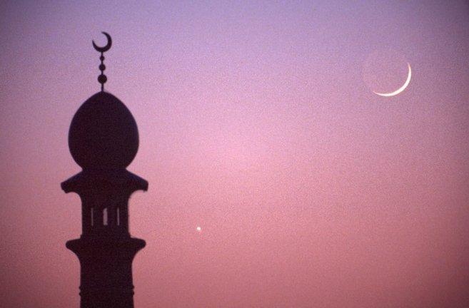 Cuarto creciente, inicio del Ramadán.