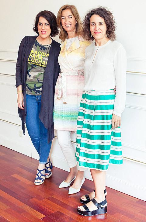 Laura Baena, fundadora del Club de las Malas Madres, Marta Michel,...
